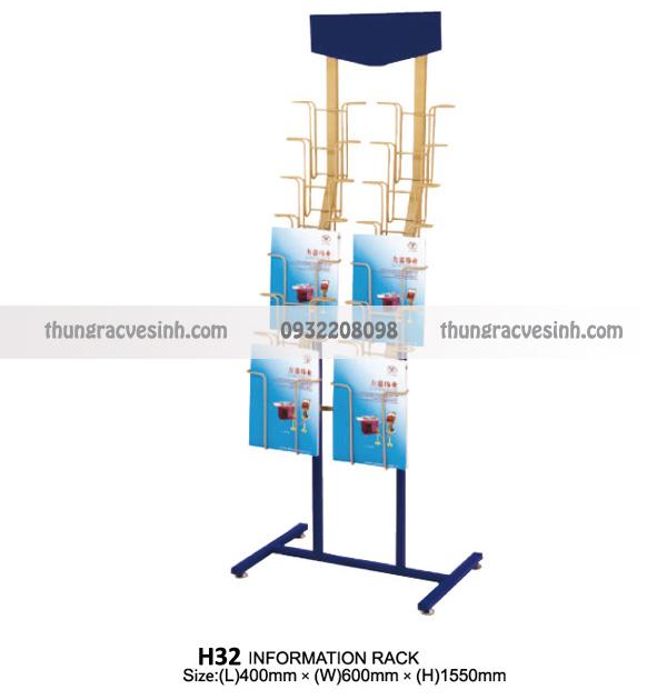 Giá để sách báo tạp chí H32