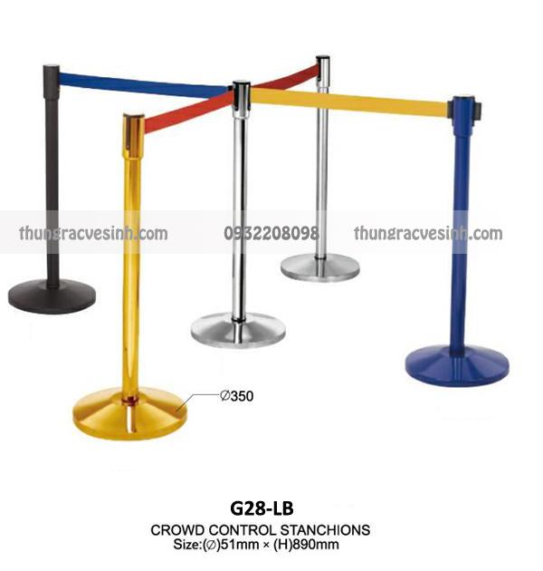 Cột chắn Inox dây căng G28-LB