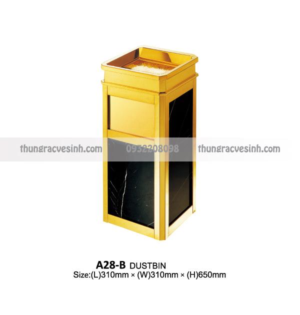 Thùng rác đá hoa cương A28-B