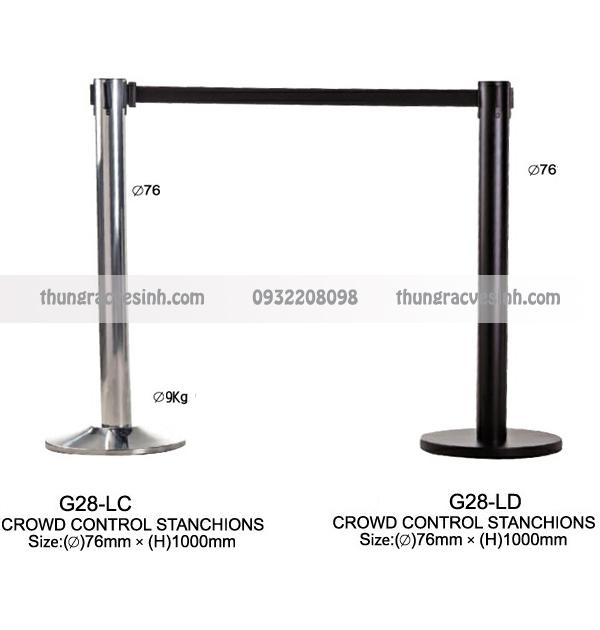 Cột ngăn cách lối đi G28-LC