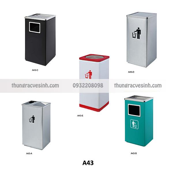 Thùng rác sảnh A43