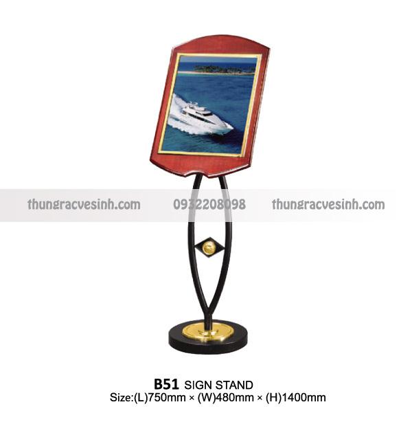 Giá để thực đơn B51