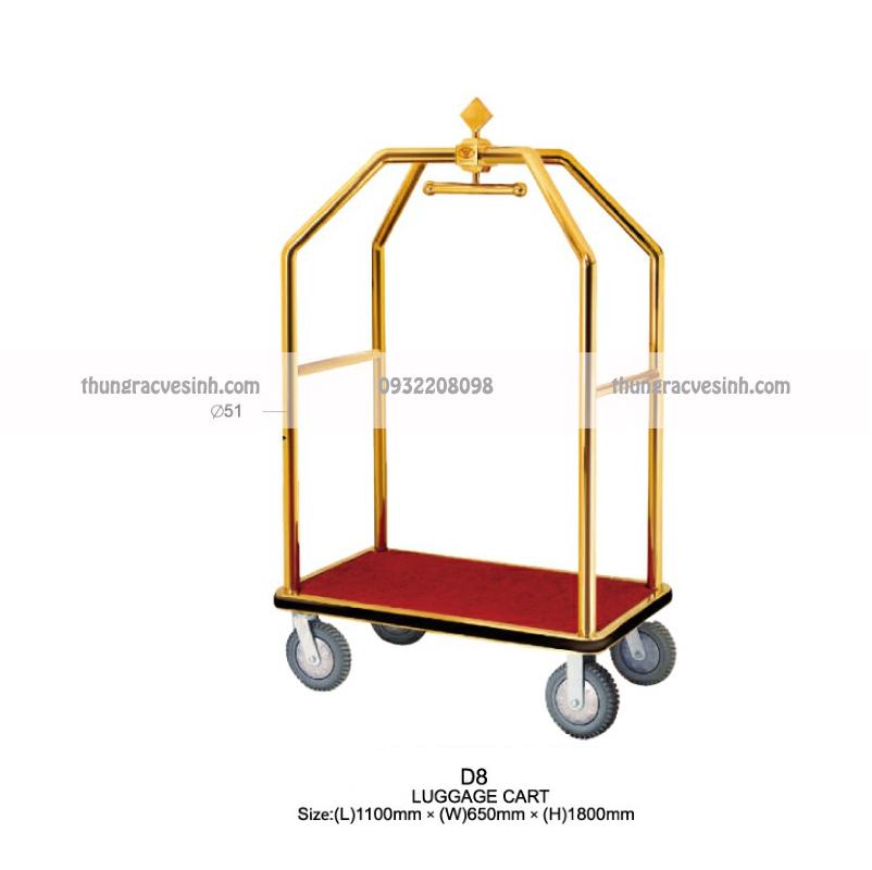 Xe đẩy hành lý đoàn D8