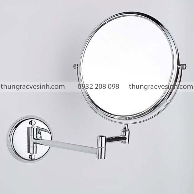 Gương trang điểm hai mặt treo tường