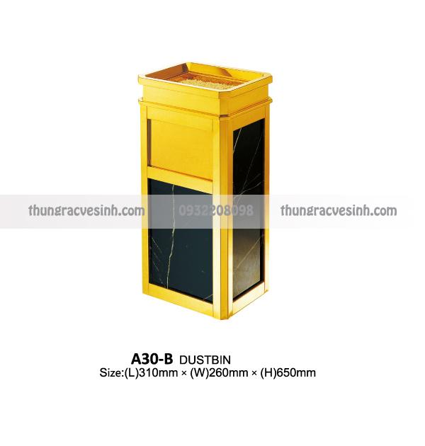 Thùng rác đá hoa cương A30-B