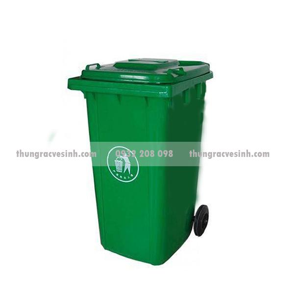 Thùng rác nhựa 240 lít  đẹp