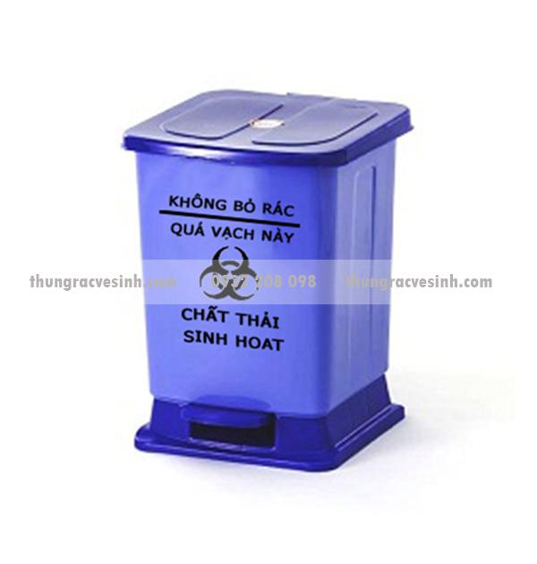 Thùng rác y tế sinh hoạt 15 lít